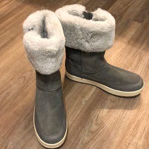 EUC Koolaburra By UGG Tynlee Stone Grey Boots